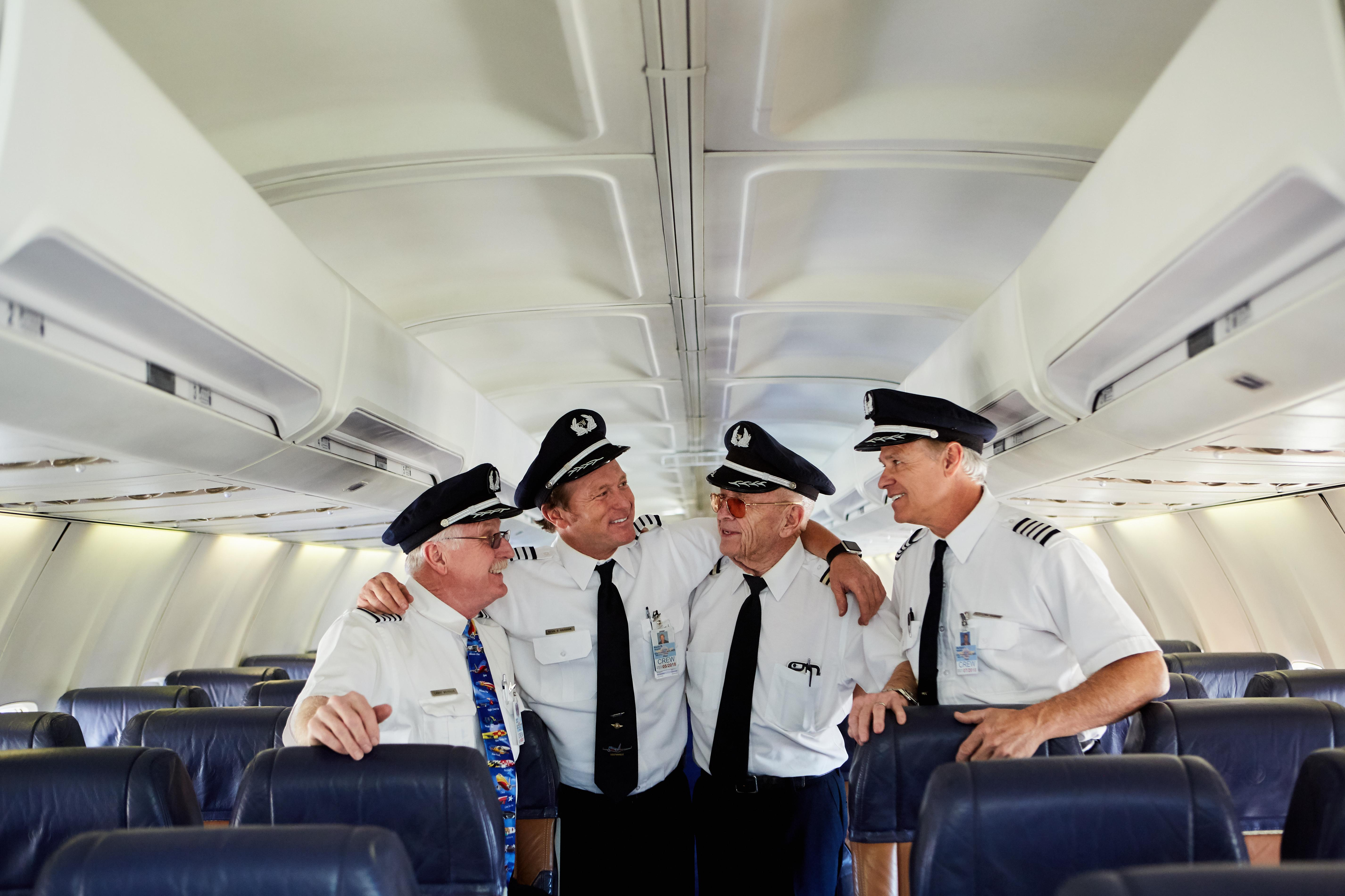 Co-pilots continue father's flight legacy