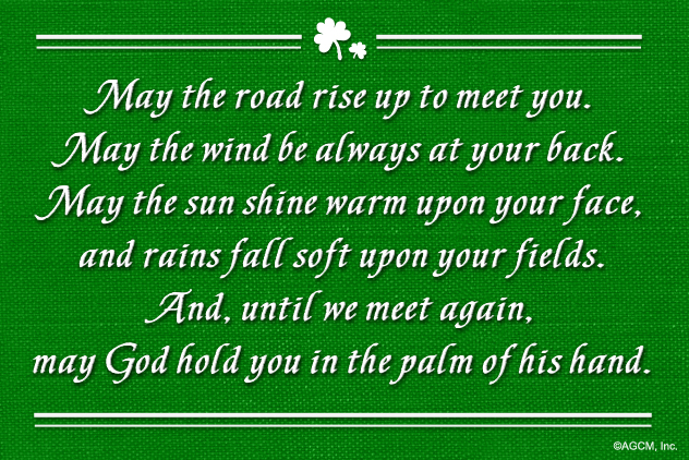 An Irish Blessing...