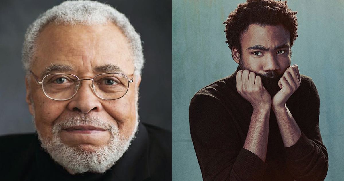 Breaking: James Earl Jones and Donald Glover Join the Cast of The Lion King
