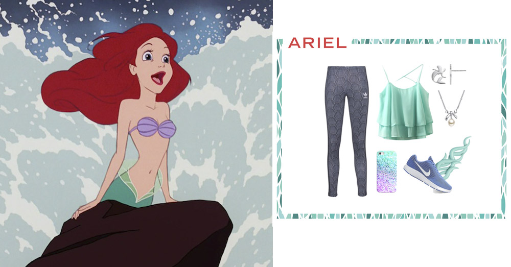 5 Athleisure Looks Fit For Our Favorite Princesses