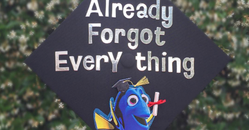The Class of 2016 Really Nailed Their Disney Grad Caps