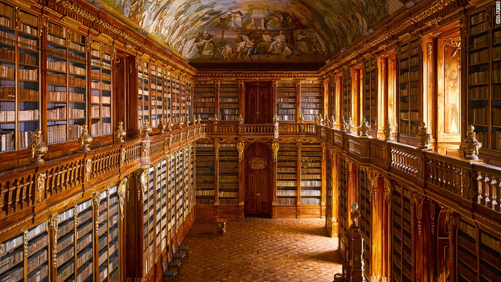 Inside the world's most exquisite libraries