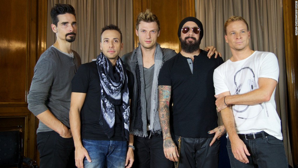 Backstreet Boys to try out Vegas residency