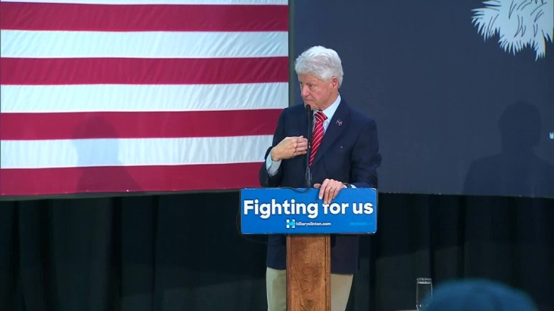 Bill Clinton: Hillary can 'put the awful legacy of the last eight years behind us'