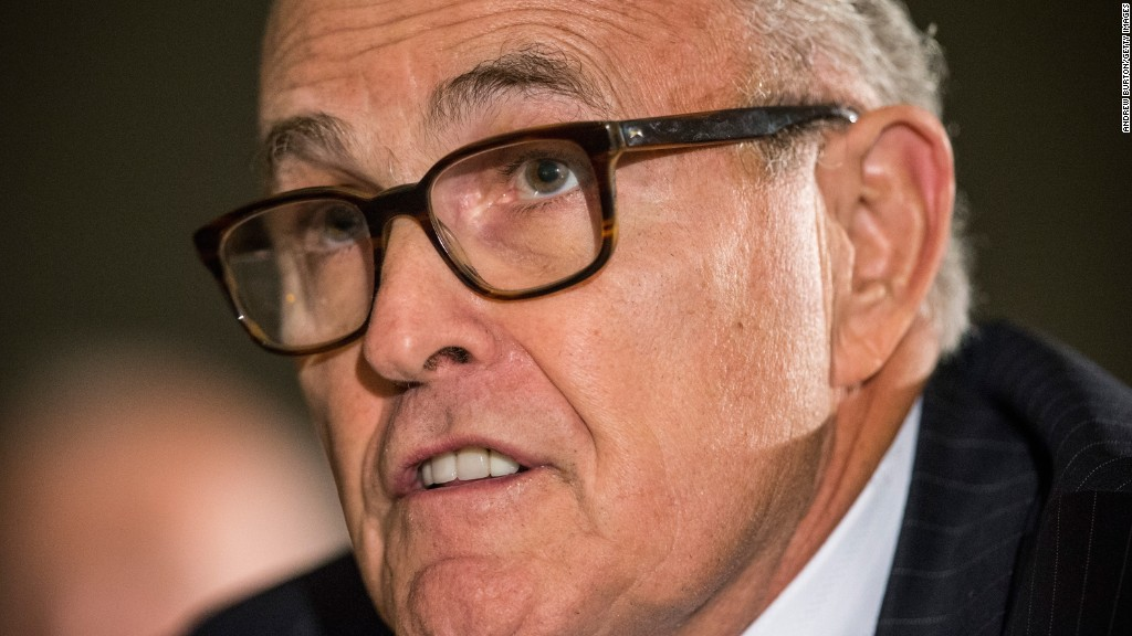 Rudy Giuliani: Black Lives Matter 'inherently racist'