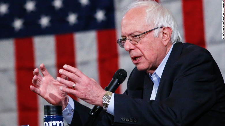 Bernie Sanders accuses Israel of 'disproportionate' response in Gaza