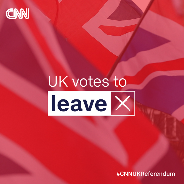 Leave set to win UK's EU referendum