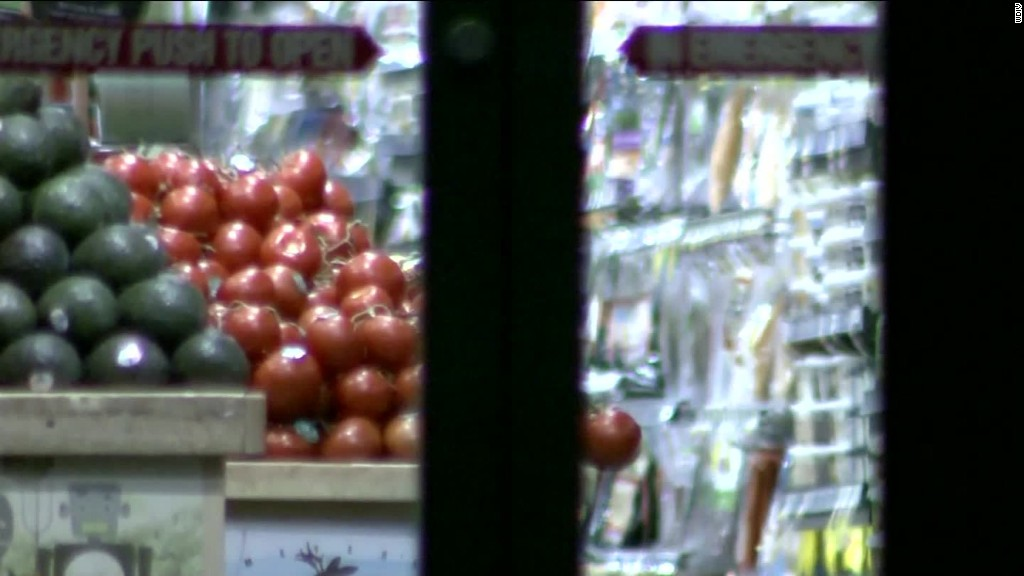 Man sprayed poison in open food at grocery stores, FBI says