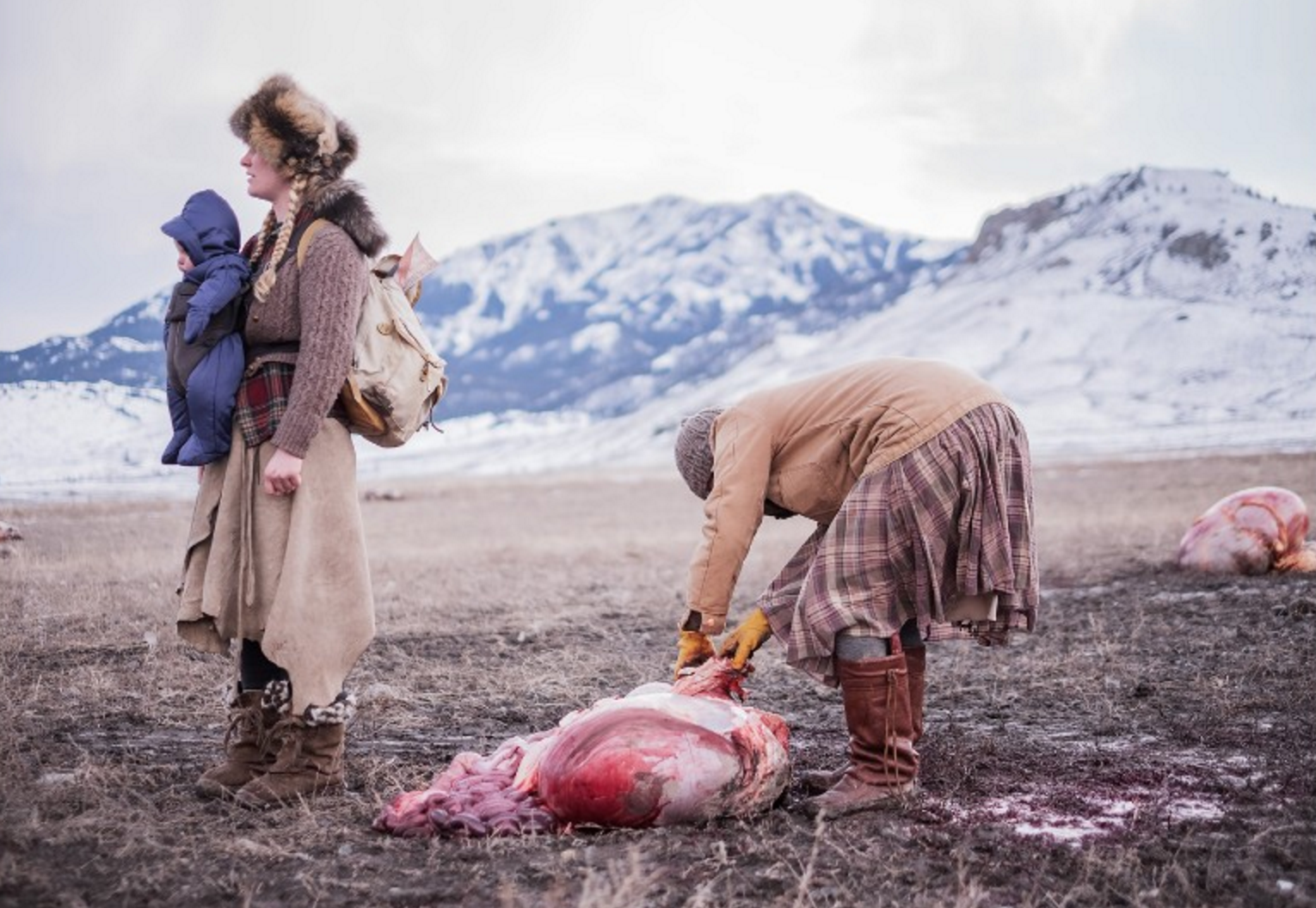 Bloody, visceral world of Montana's off-grid butchers