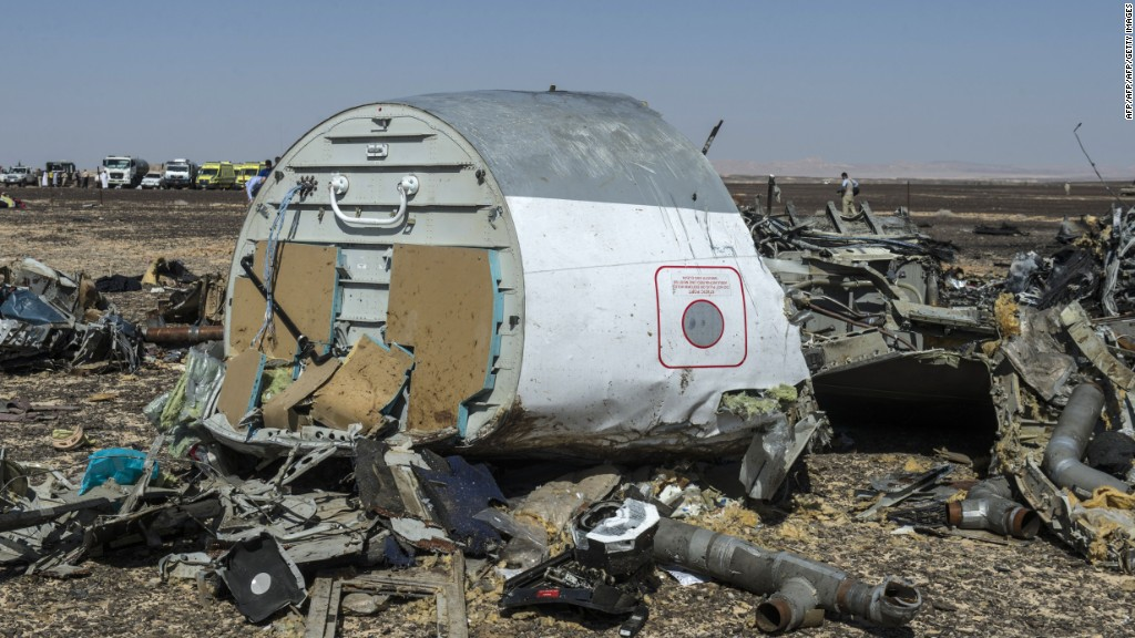 Major plane crashes: A timeline