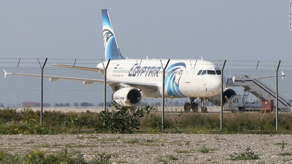 Eye Opener: Hijacked plane lands in Cyprus