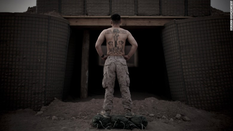 U.S. Marines have a new (and detailed) tattoo policy to follow