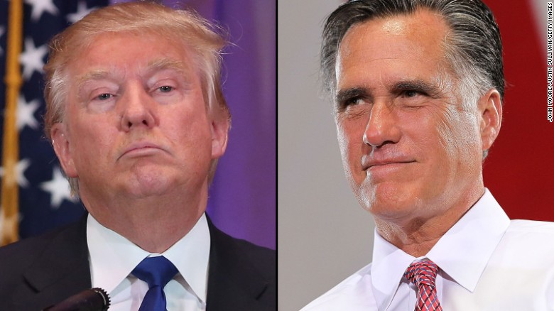 Trump on Romney: 'Are you sure he's a Mormon?'
