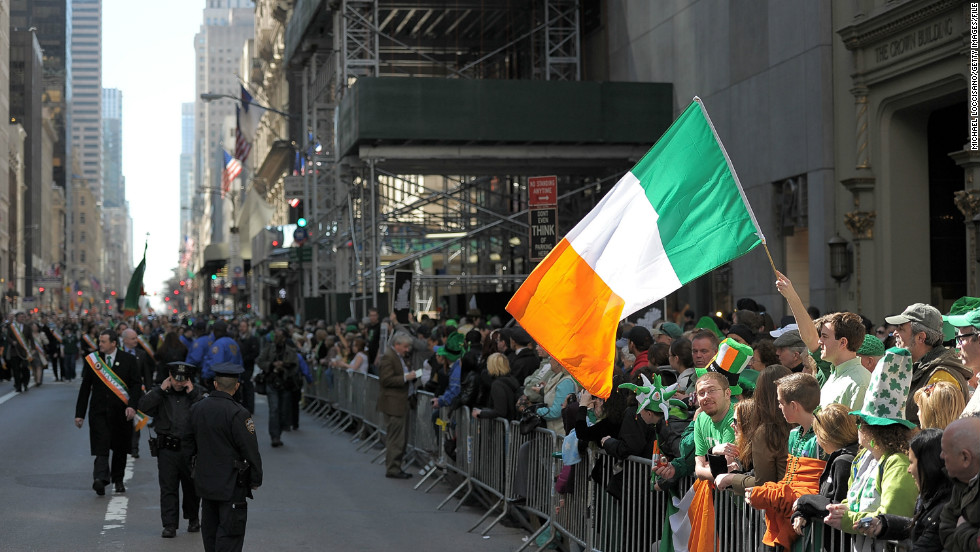 Happy tears, not tossed beers, for Irish LGBT group at St. Patrick's Day Parade