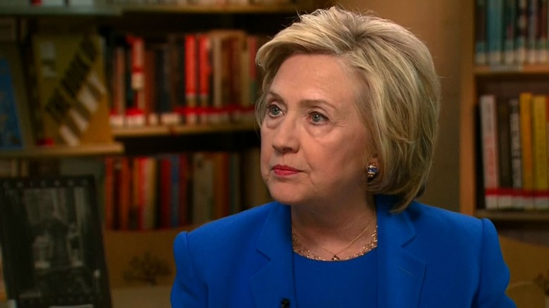 Hillary Clinton: Donald Trump not qualified to be president