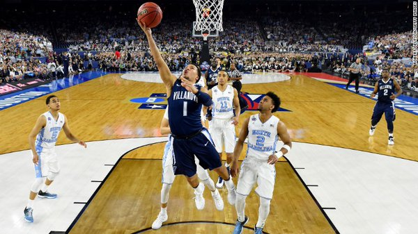 Villanova beats UNC at the buzzer to take NCAA title