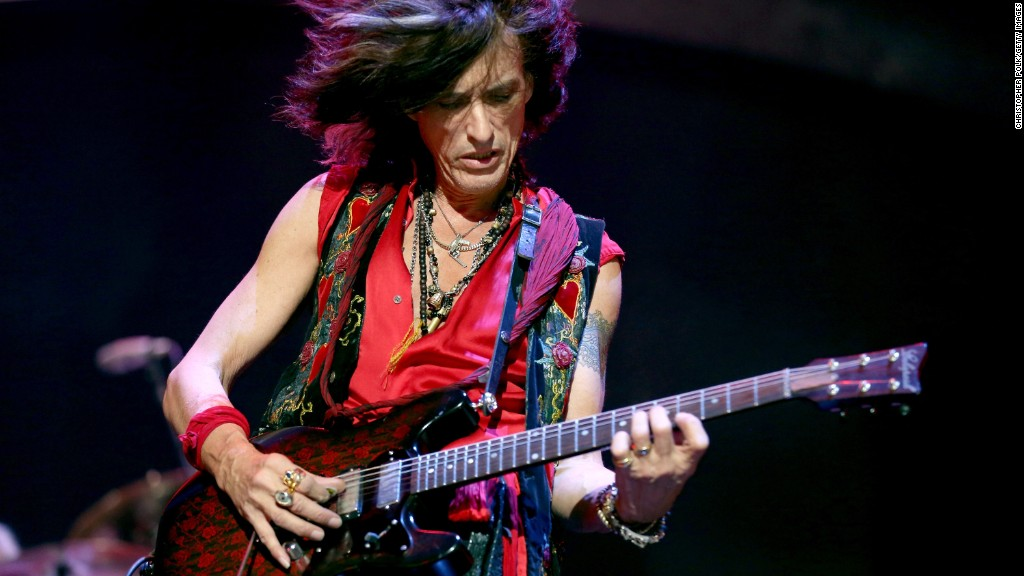 Aerosmith guitarist Joe Perry hospitalized
