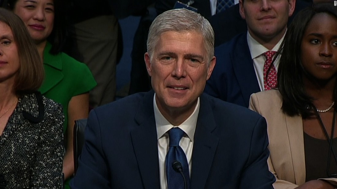 Supreme Court nominee Neil ... Grouch? - CNN 2017-03-20 22:07