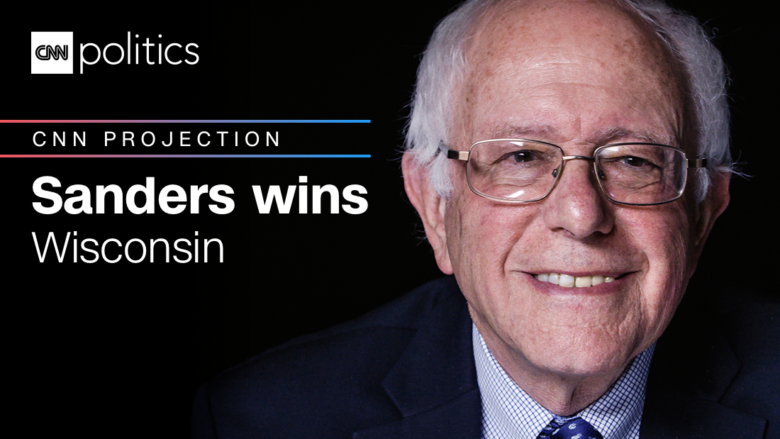 Wisconsin primary: Sanders wins, CNN projects