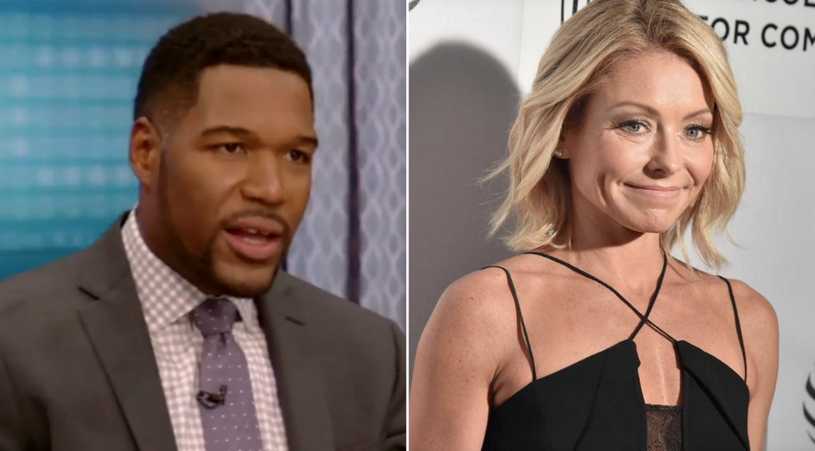 Kelly Ripa a no-show 1 day after Michael Strahan's big announcement