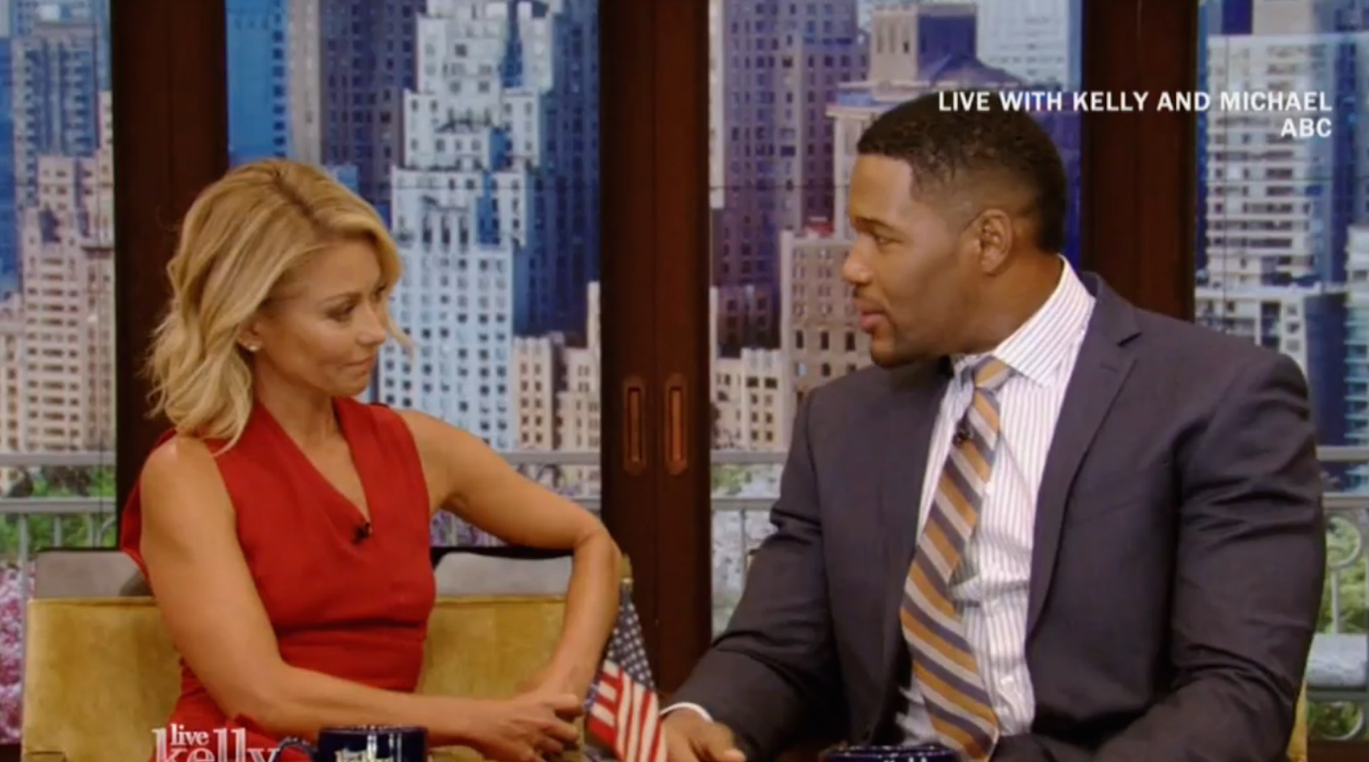 WATCH: Kelly Ripa opens up about Michael Strahan's big news for first time