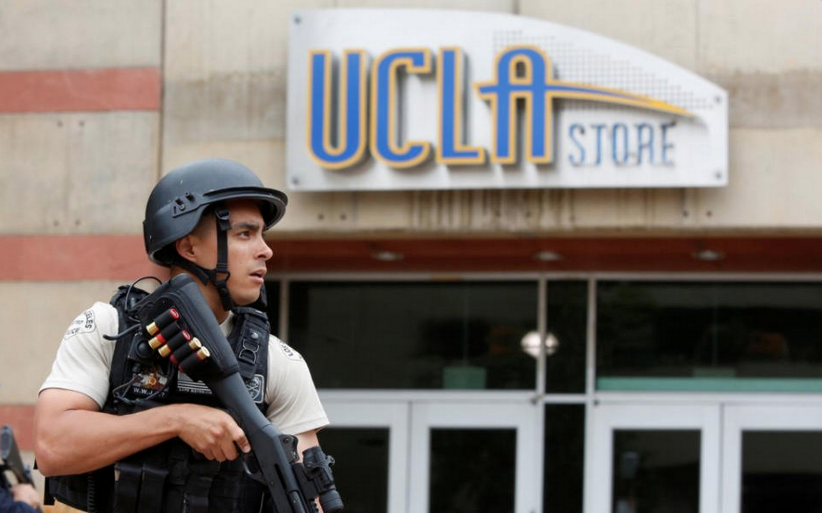 NEW: Woman on UCLA shooter's