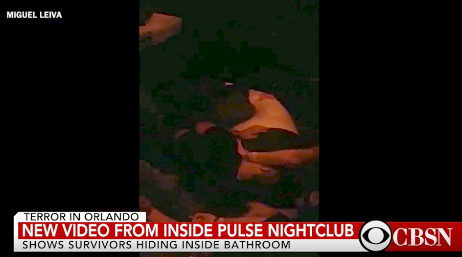 NEW: Video shows hostages hiding inside Pulse nightclub bathroom