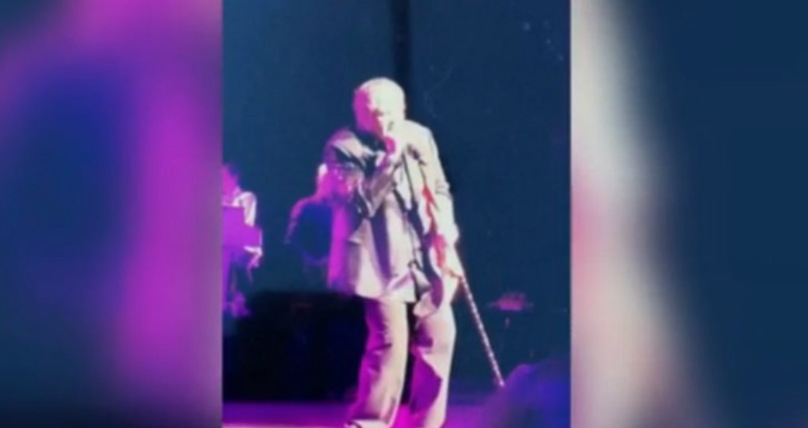 VIDEO: Meat Loaf collapses on stage in the middle of a performance