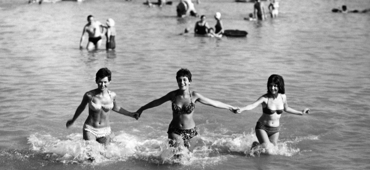 Here's how the bikini has evolved in the past 70 years